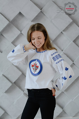 The Jets Vyshyvanka for Her (machine embroidered)