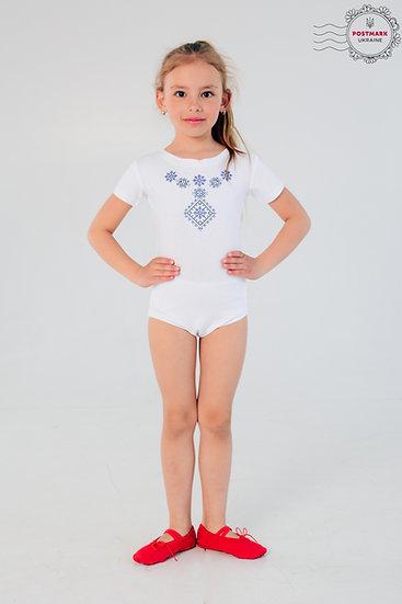 Poltavska Short Sleeve Bodysuit (white)