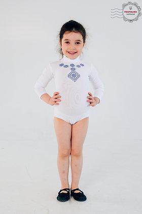 Poltavska Keyhole Bodysuit (white)