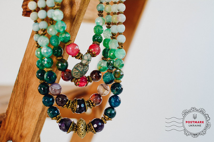 A Jeweled-coloured Palette