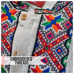 VYSHYVANKA NATION: Embroidered Threads