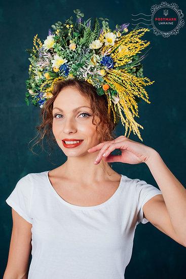 Exclusive Artisanal Spring Maiden Vinok