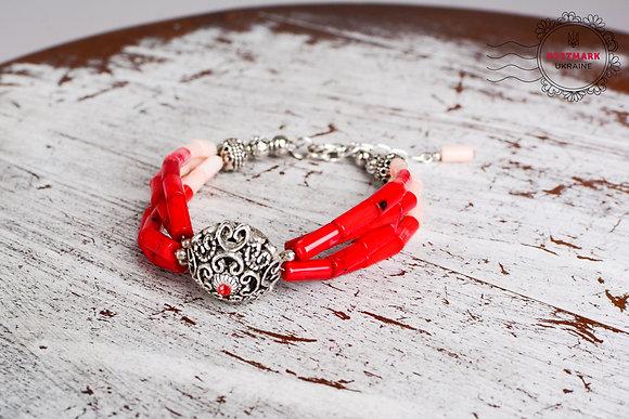 Red Vigilance Bracelet
