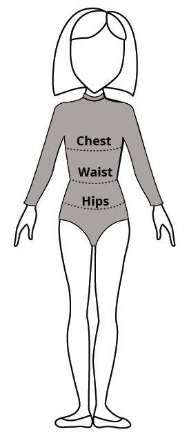 bodysuit measurements