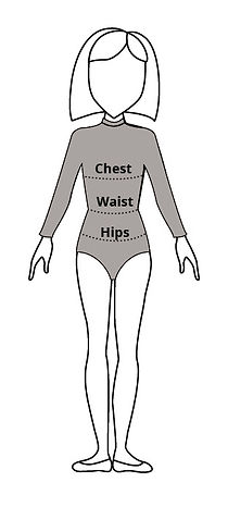 How to take bodysuit measurements