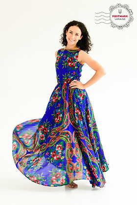 Khustyna Sleeveless Full-length Dress