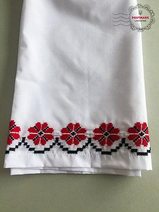 Poppy Embroidered Slip
