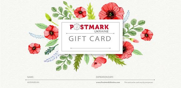 Postmark Ukraine Gift Certificate
