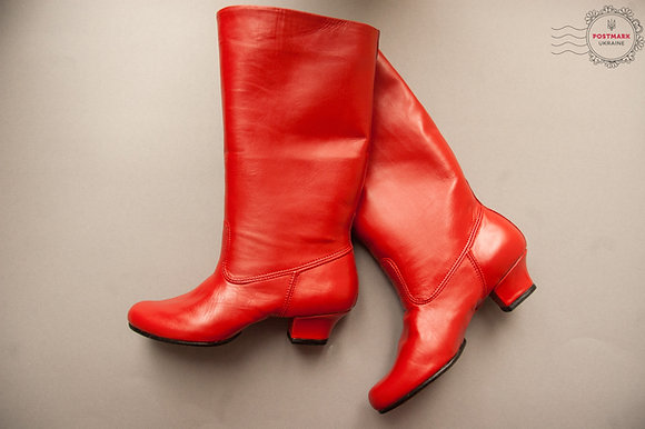 Kolomiyka Women's Split Sole Dance Boot
