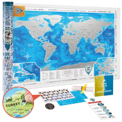 Scratch Map - World