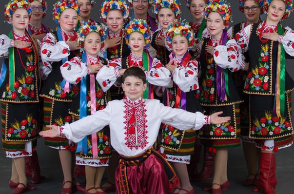 Hopak costumes by Postmark Ukraine