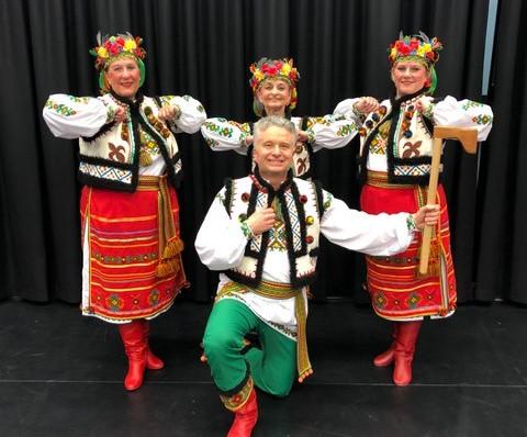 Hutsul costumes by Postmark Ukraine