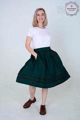 Central Ukraine Circle Skirt