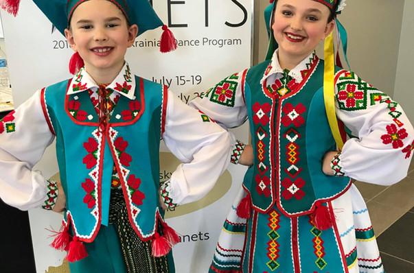 Volyn costumes by Postmark Ukraine
