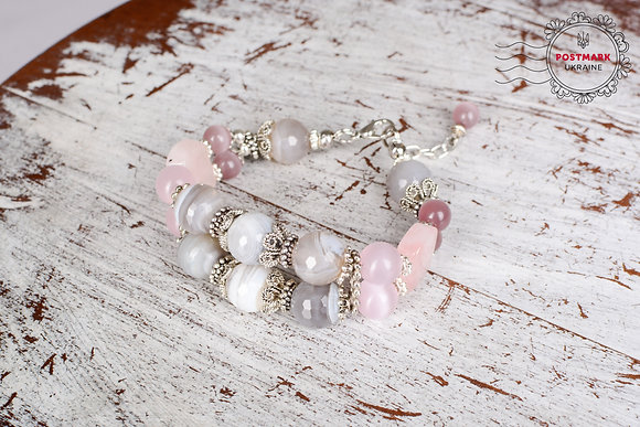 Subtle Blush Bracelet