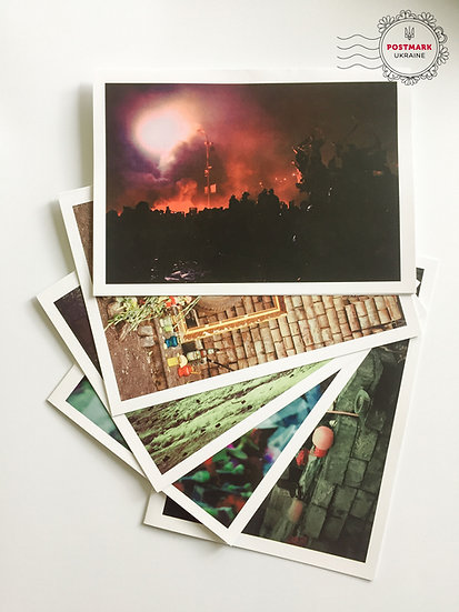 EuroMaidan Cards (set of 5)