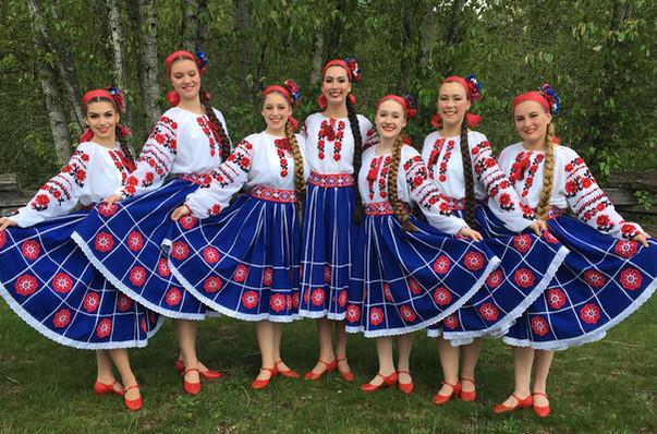Poltava costumes by Postmark Ukraine