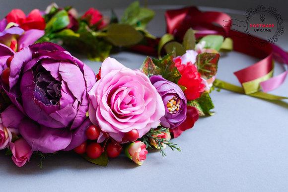 Exclusive Pretty in Pink Vinok