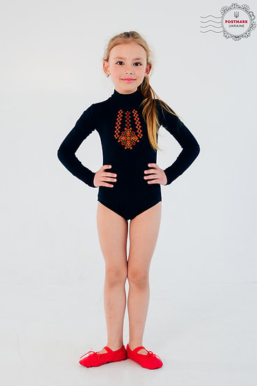 Hutsul Keyhole Bodysuit (black)
