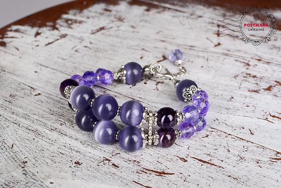 Magenta Moods Bracelet