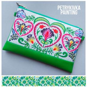 UKRAINIAN ARTS: Petrykivka painting