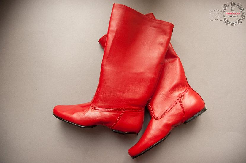 Kolomiyka Men's Split Sole Dance Boot