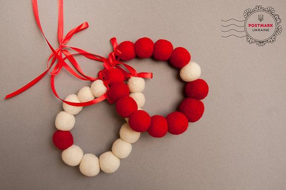 Canada Colours Felt Beads