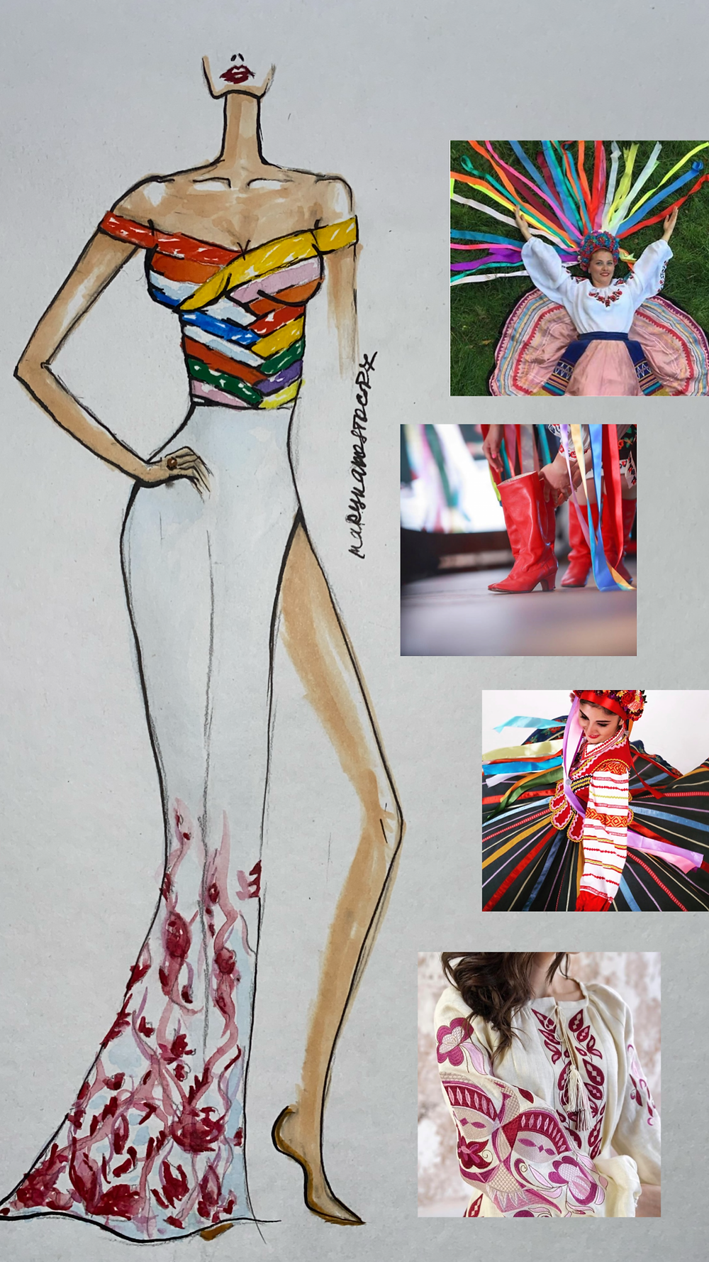 Custom ballgown