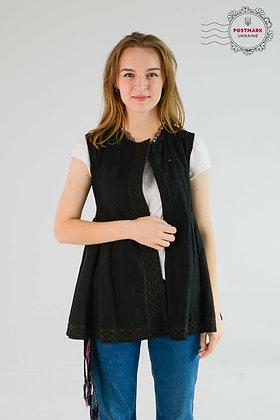 Vintage Black on Black Kersetka