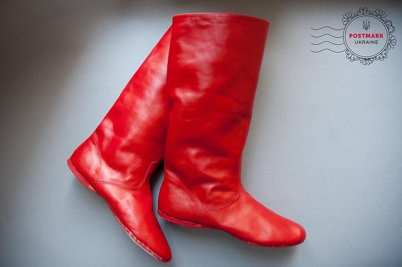 Hopachok Men's Full Sole Dance Boot