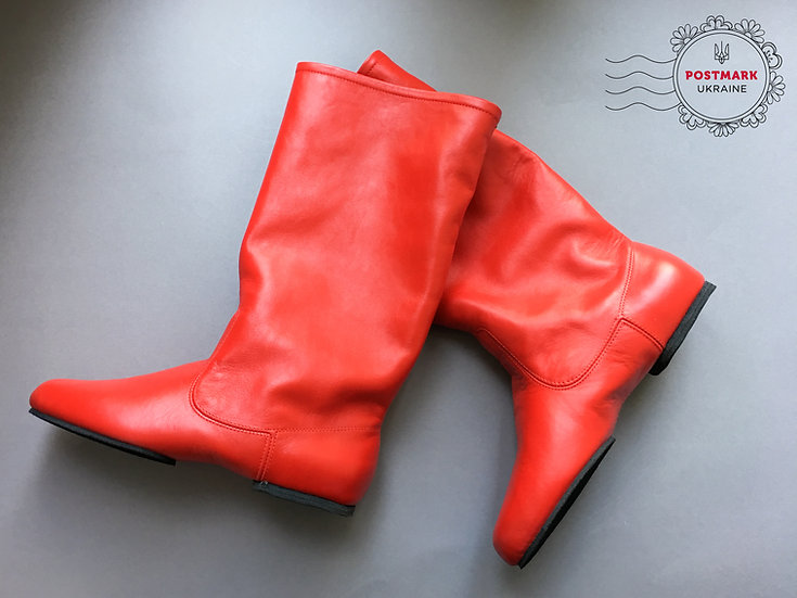Tropachok Men's Split Sole Dance Boot
