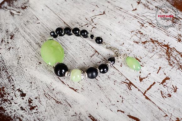 Citrus & Charcoal Bracelet
