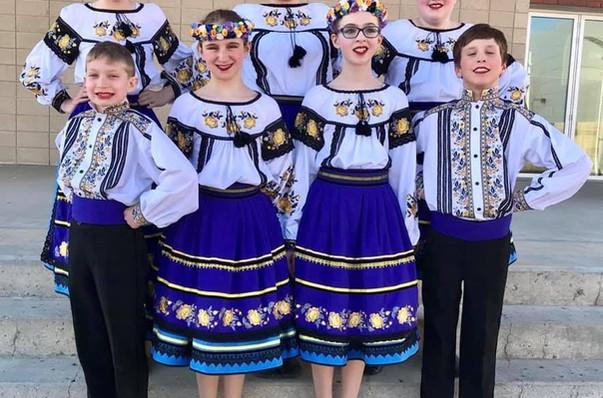 Zakarpattia costumes by Postmark Ukraine