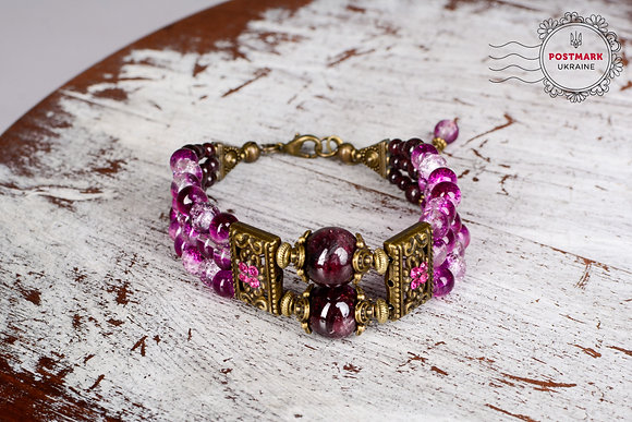 Lucious Plum Bracelet