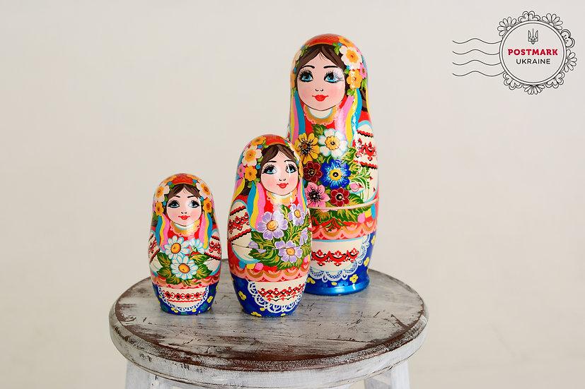 Matreshka Dolls 5-7-9-piece set