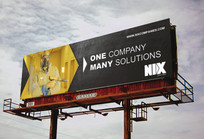 One Company Many Solutions Billboard 1