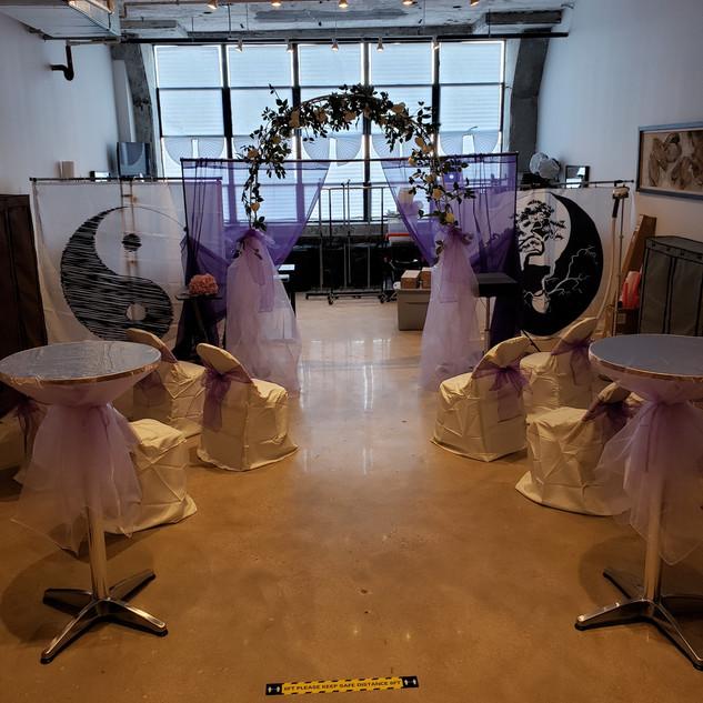 Eloping / Mirco Wedding Set-Up