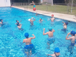 Water volleyball September