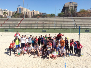 Training and education of beach volley