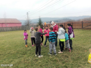 Activities at Pauleni-Ciuc school