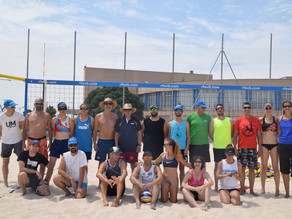 First level Beach Volleyball coach course