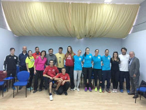 Conference in a First Level Volleyball coach course