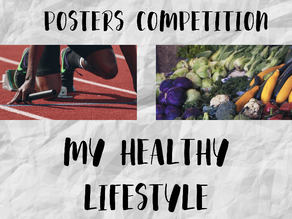'My healthy lifestyle' Poster Competition