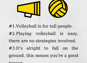 Volleyball Myths