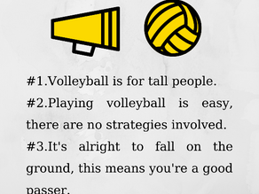Volleyball Myths