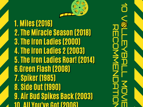 10 volleyball movies recommendations