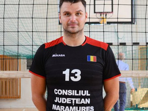 Dragoș Răileanu, volleyball player of the year at Știința Explorări