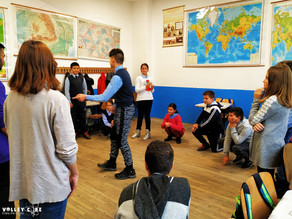 Activities at Ciceu school