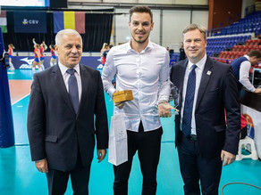 Csanad David (Stiinta Explorari), the best Hungarian volleyball player in 2019!
