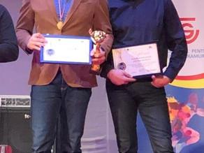 Stiinta Explorari, awarded at the Maramurean Volunteers and Athletes Gala 2019